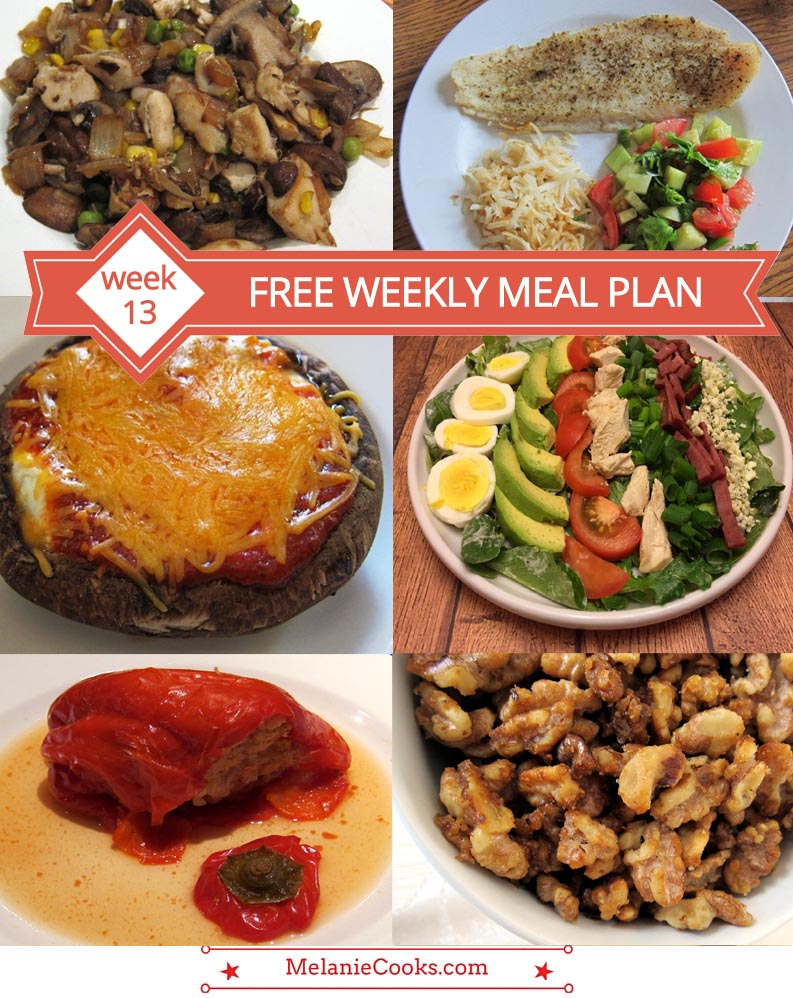 Free Weekly Meal Plan - Week 13