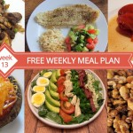 Free Weekly Menu Plan - Dinner Ideas Week 13