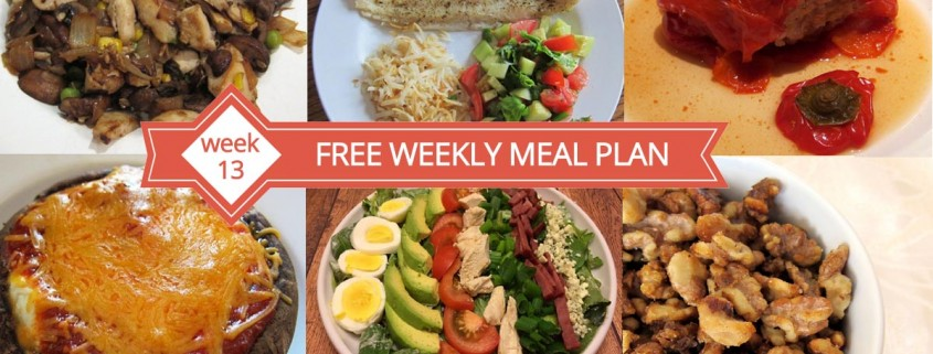 Free Weekly Meal Plan What S For Dinner Week 13