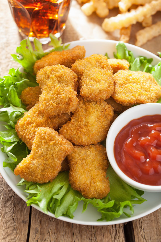 Homemade Healthy Baked Chicken Nuggets Recipe