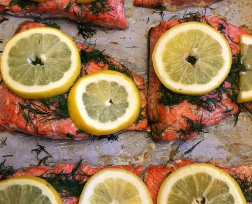 Lemon-Dill Salmon Recipe - Oven Baked, Healthy and Delicious!