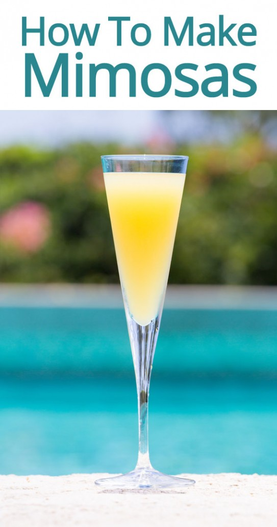 how to make mimosas cocktail drink by the glass or pitcher