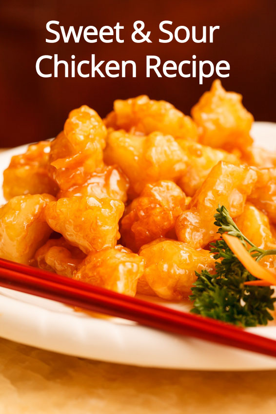 Homemade Chinese Sweet & Sour Chicken Recipe – Melanie Cooks