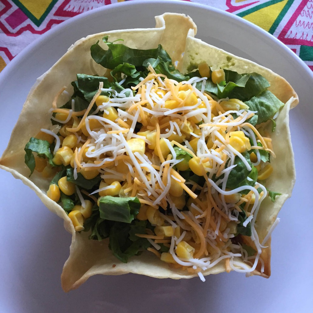 How To Make Tortilla Taco Shell Bowls Step By Step – Melanie Cooks