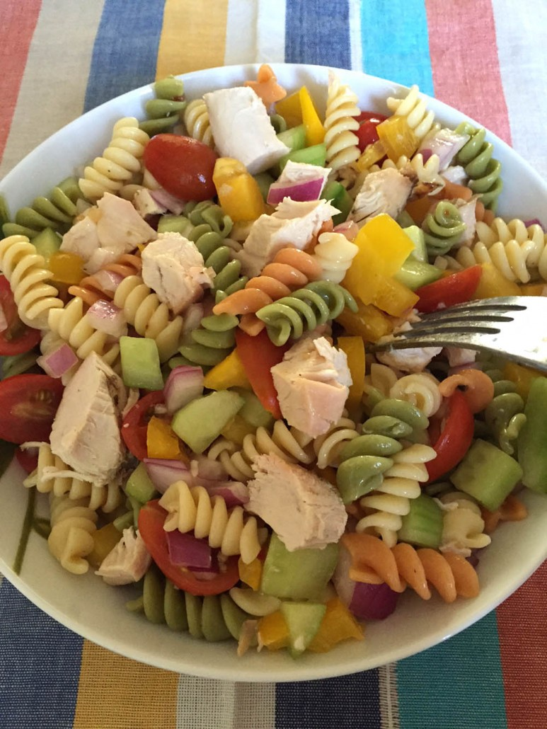 Easy Main Dish Chicken Pasta Salad