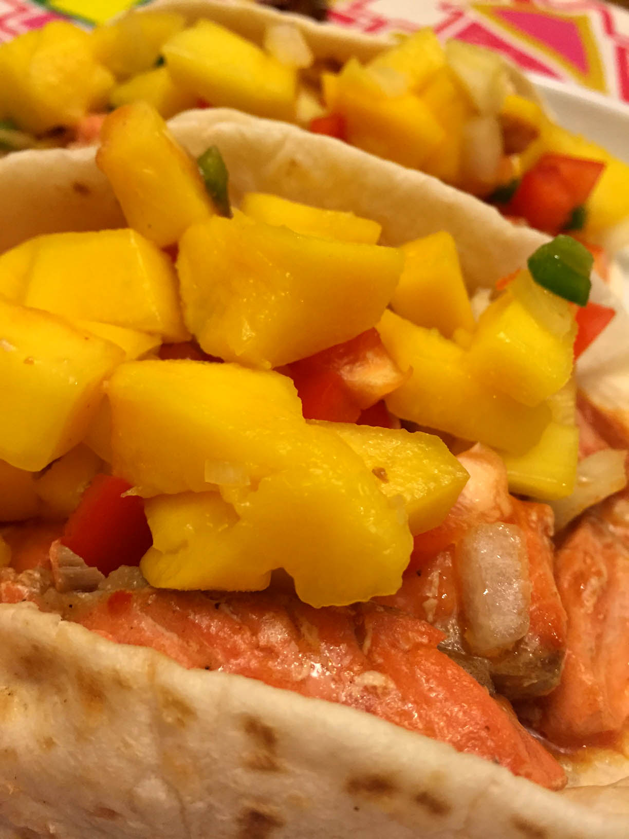 Easy Fish Tacos Recipe With Mango Salsa - So Delicious!