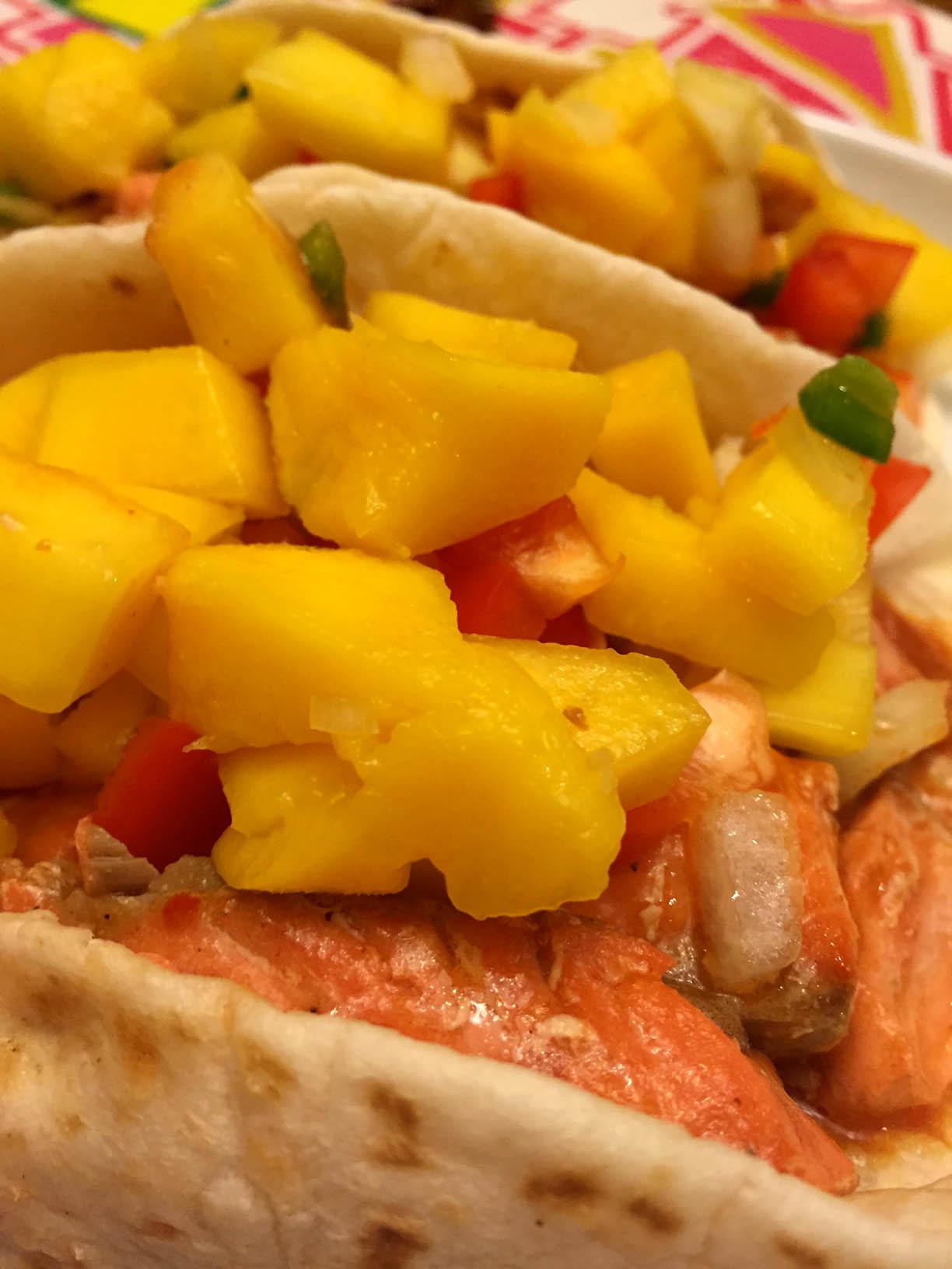 Easy Fish Tacos Recipe With Mango Salsa - So Delicious!