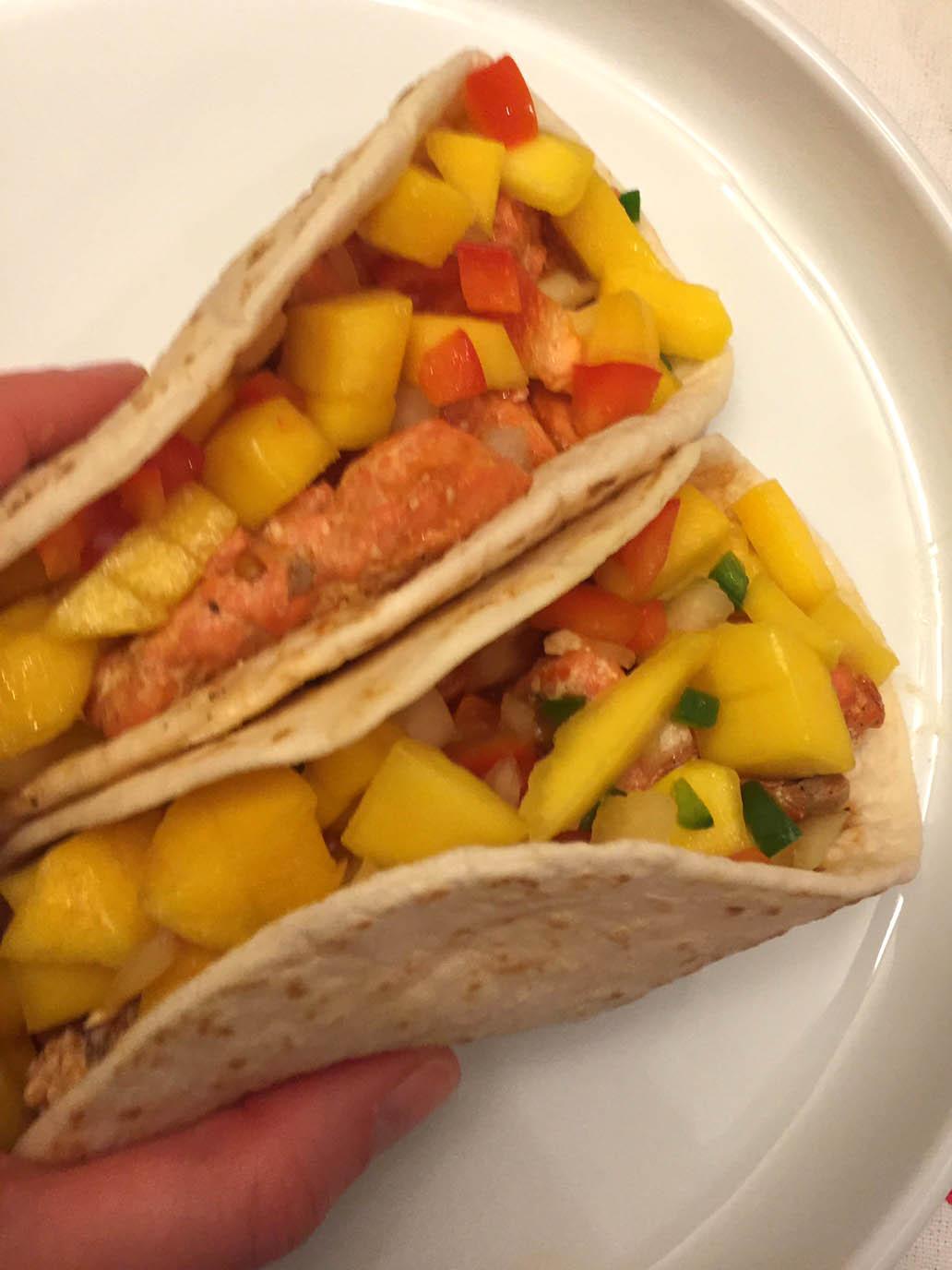 Amazing Fish Tacos Recipe With Mango Salsa!