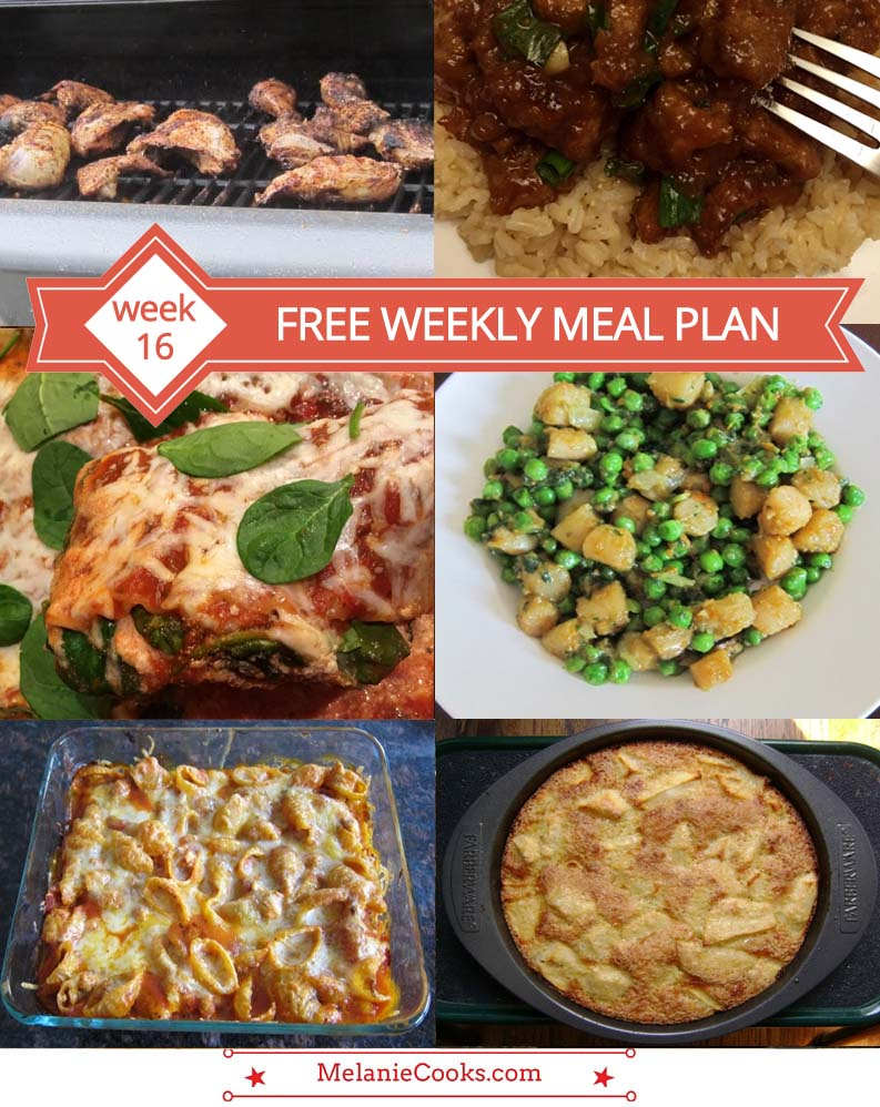 FREE Weekly Meal Plan - Awesome Recipes And Dinner Ideas!