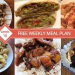 FREE Weekly Meal Plans - Week 18 Menu
