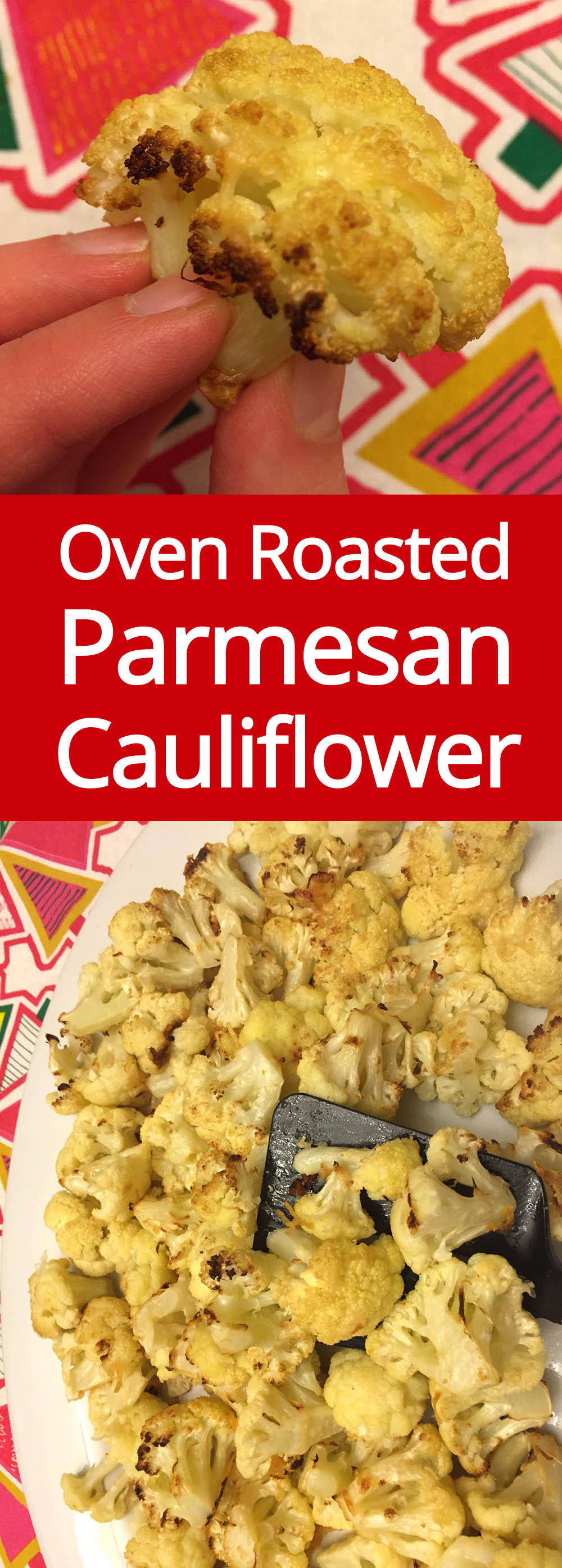 Oven Roasted Parmesan Cauliflower Recipe