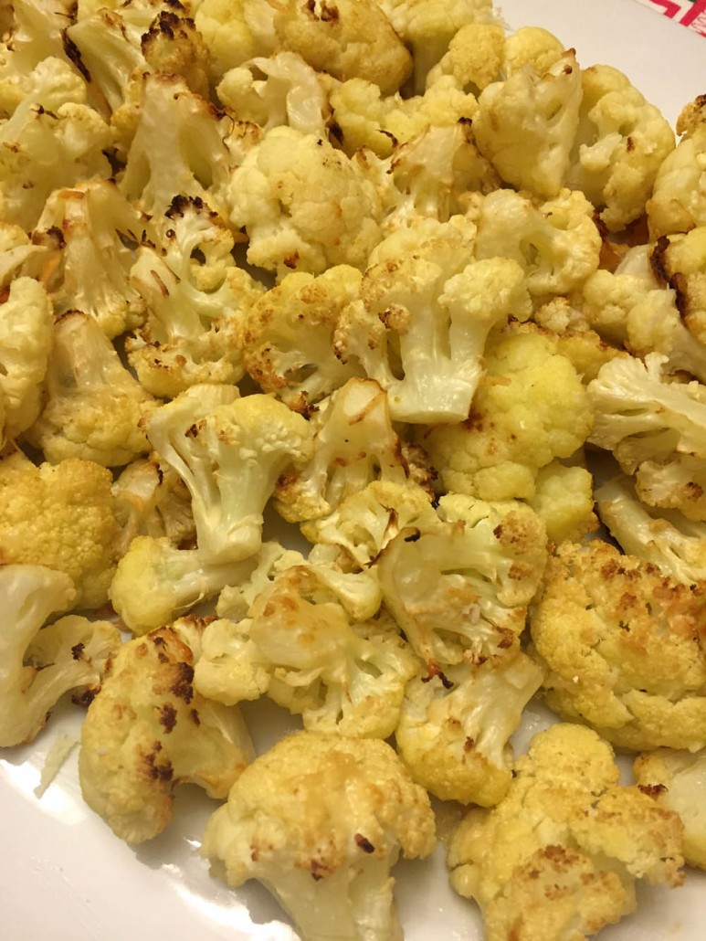 How To Make Roasted Parmesan Cauliflower