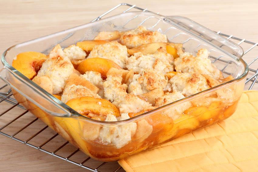 How To Make Fresh Peach Cobbler