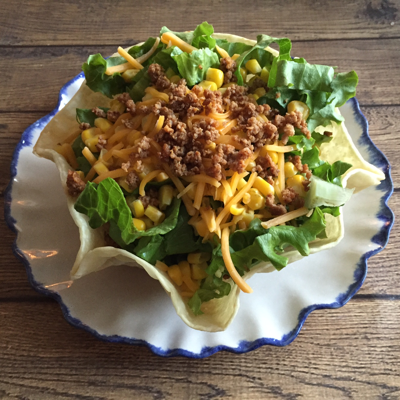 Taco Salad Recipe - Easy, Healthy and Delicious!