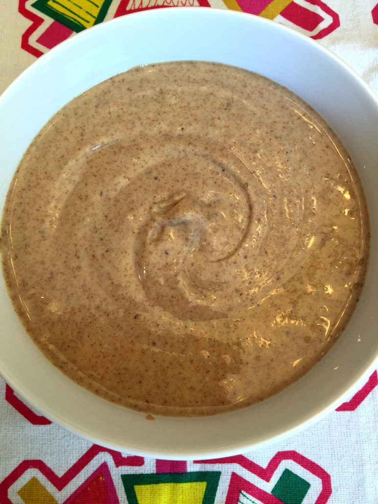 Raw Organic Homemade Almond Butter