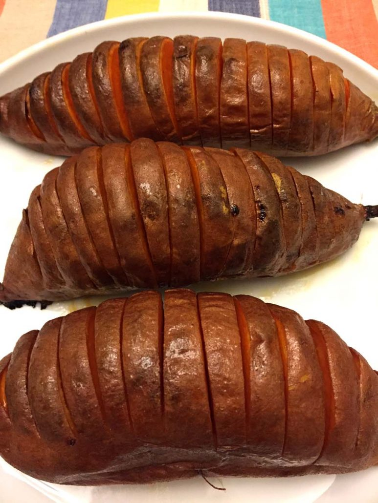 Hasselback Sweet Potatoes Recipe - Paleo and Gluten-Free!