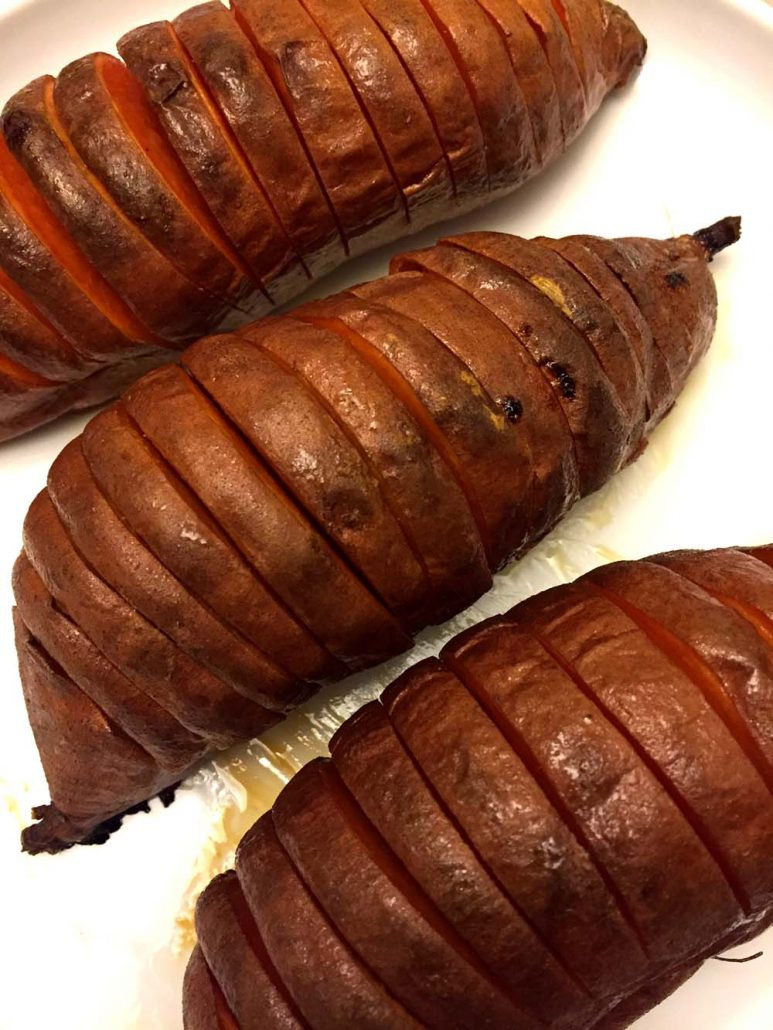 try hasselback sweet potatoes hasselback sweet potatoes recipe yummly ...