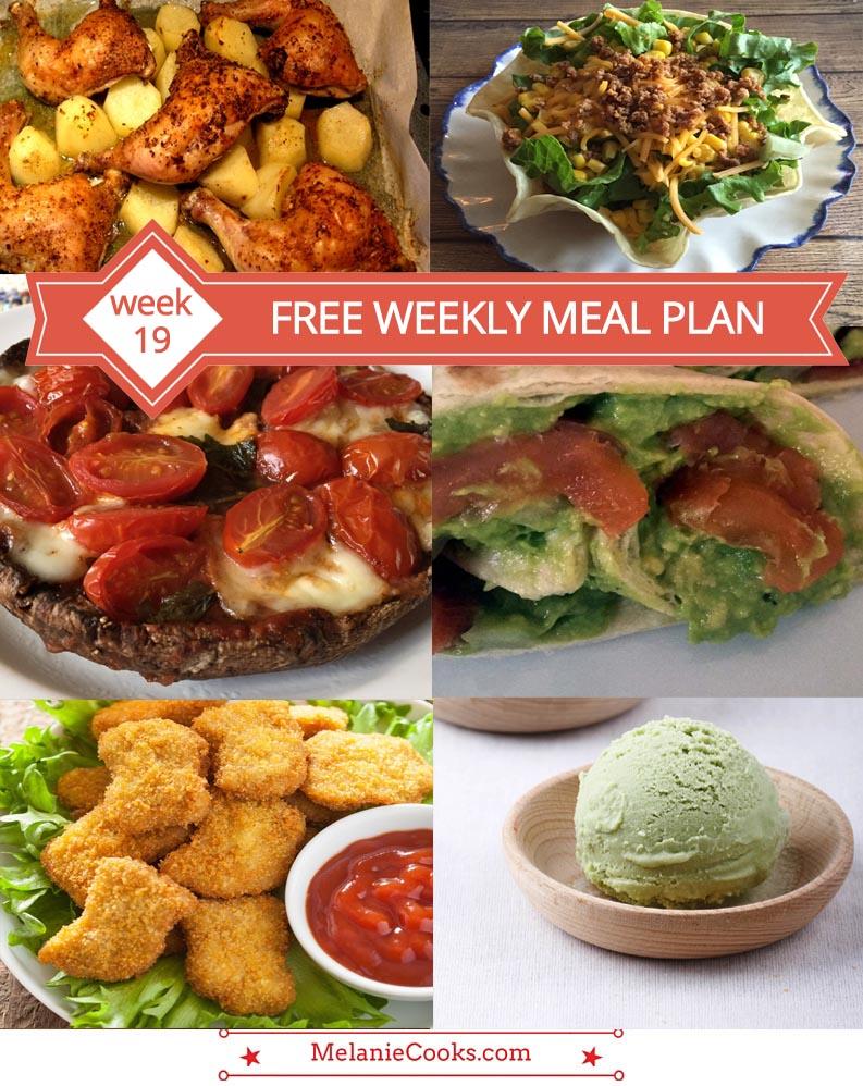 FREE Weekly Menu Plan - Week 19 Recipes And Dinner Ideas