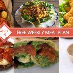 FREE Weekly Meal Plan (Week 19)