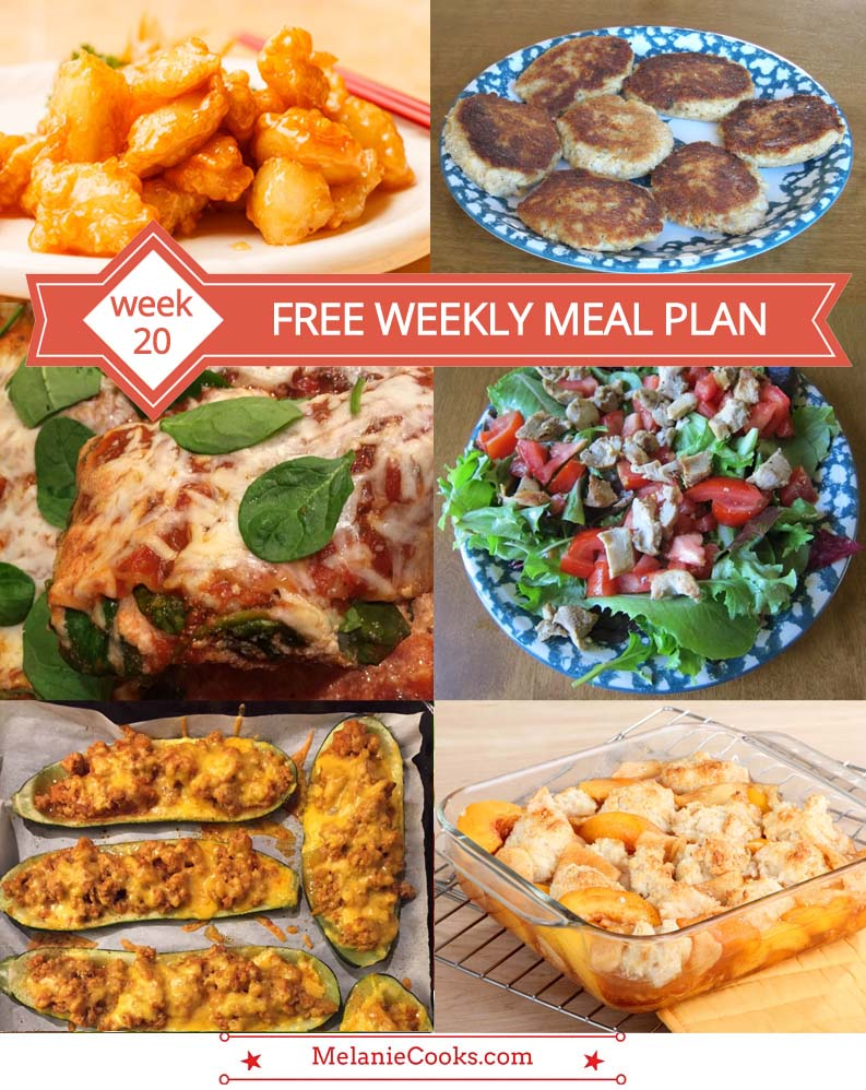 FREE Weekly Meal Plan (Week 20) – Easy Recipes & Family