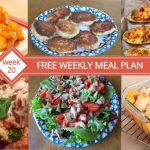 Free Weekly Menu Plan With Recipes And Shopping List