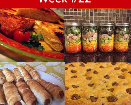 Free Weekly Healthy Family Meal Plan - Week 22 Menu