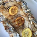 Fish In Foil Packets Recipe With Lemon Butter - Grilled or Baked!
