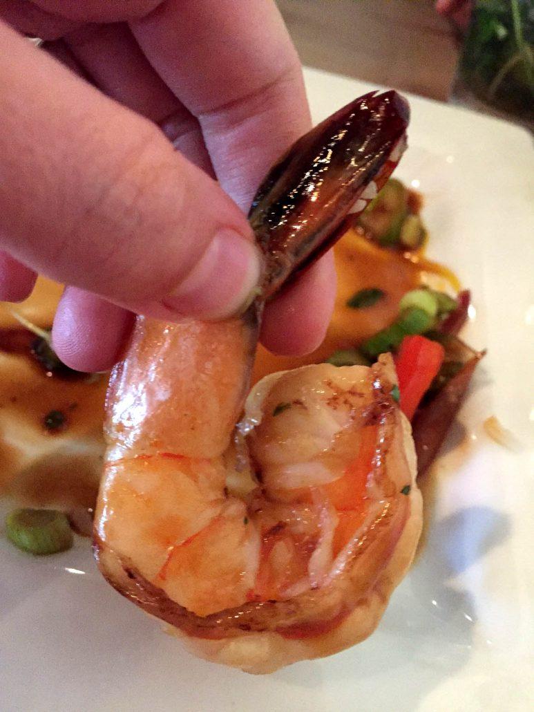 Mesa Urbana shrimp
