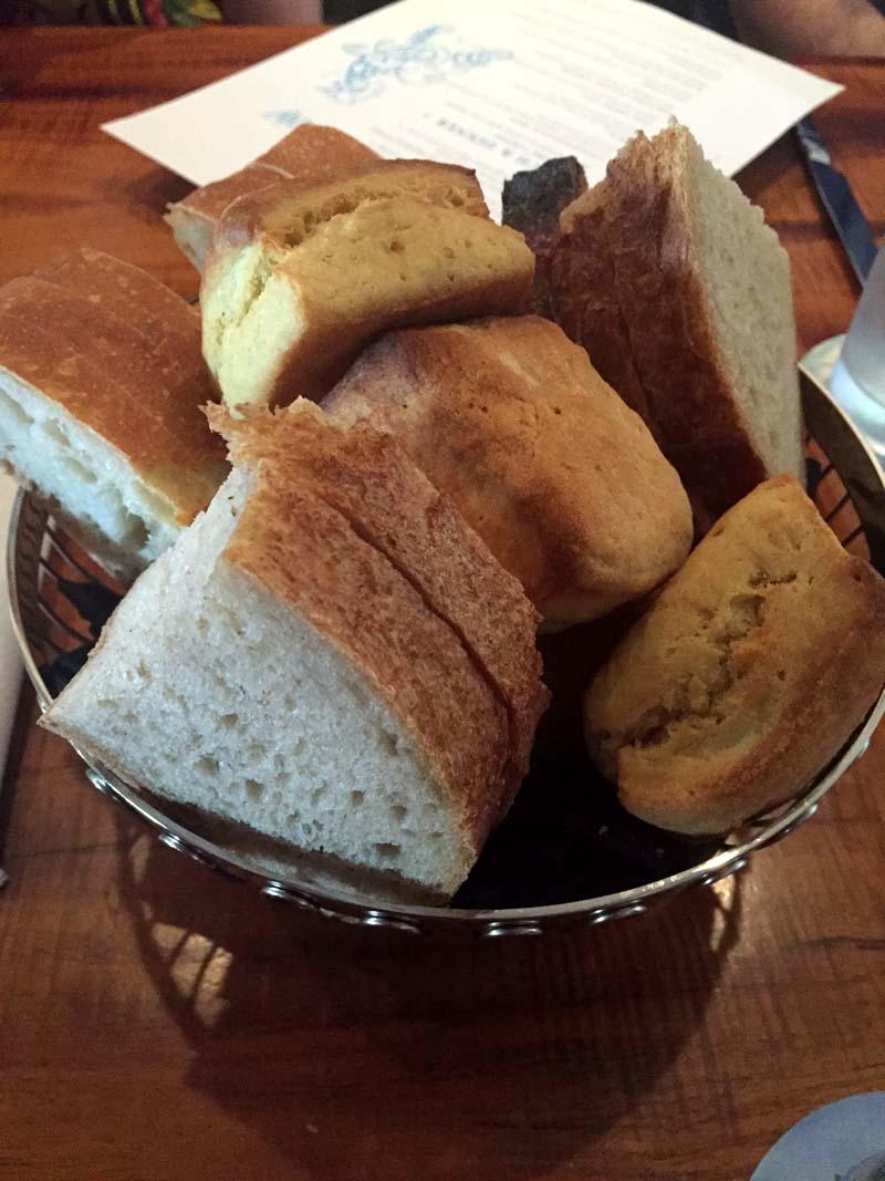 Oceana Restaurant San Diego Bread Basket