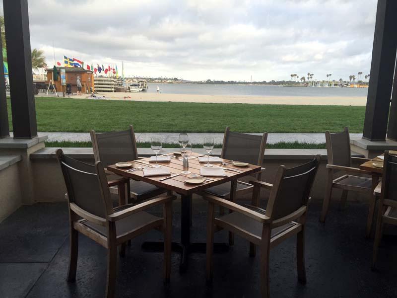 Oceana Restaurant San Diego California