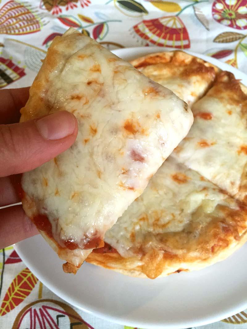 Cheese Pita Pizza Recipe