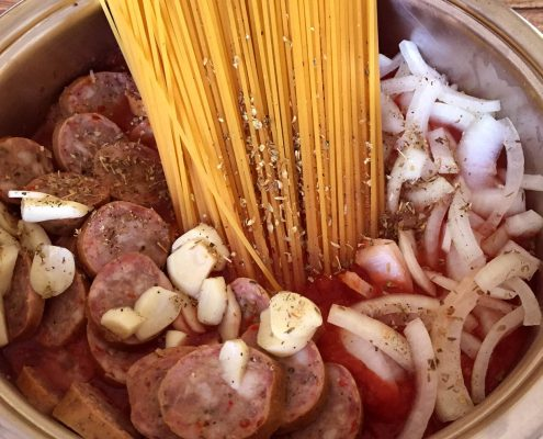 Easy 20-Minute One-Pot Sausage Pasta Recipe
