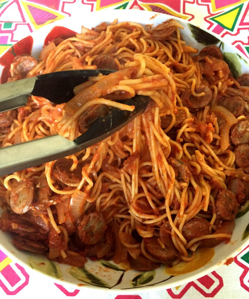 How To Make One Pot Sausage Pasta
