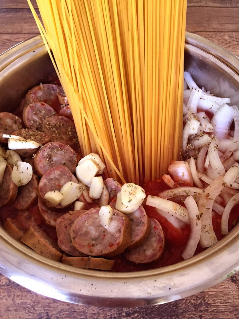 How To Make One-Pot Sausage Pasta Recipe