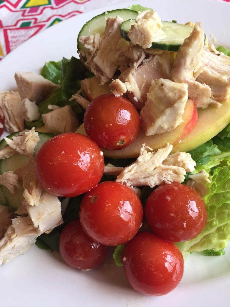 Healthy Chicken Apple Salad For Lunch