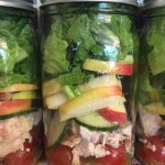 Chicken Apple Mason Jar Salad Recipe