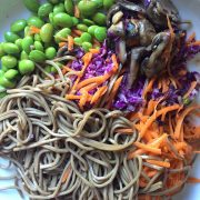 Japanese Soba Noodle Bowl - Vegan and Gluten-Free