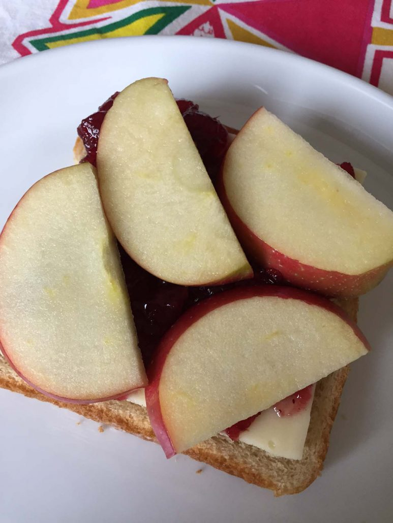 Apple Cranberry Grilled Cheese Sandwich Recipe Melanie Cooks