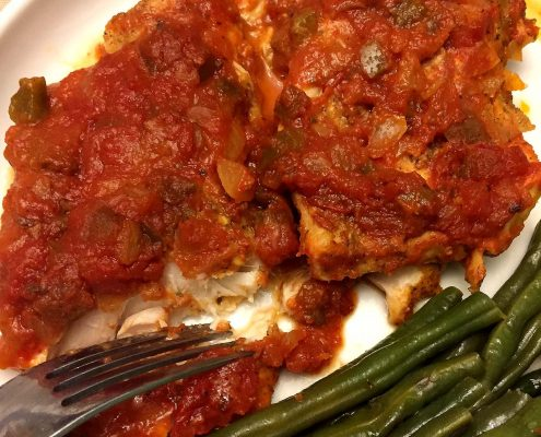 How To Make Baked Salsa Fish