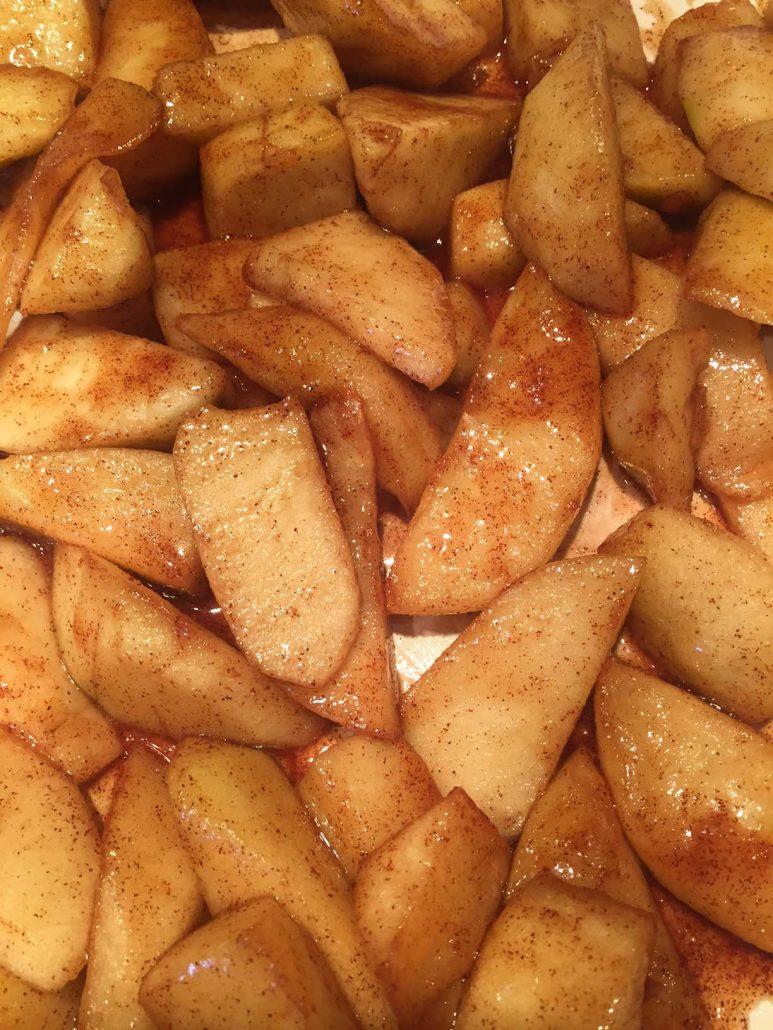 Apple Cinnamon Filling For Apple Strudel