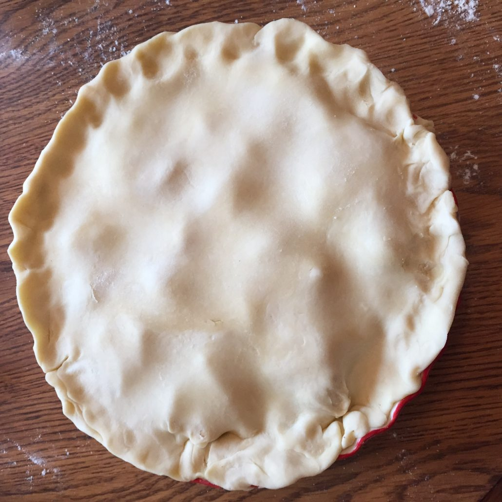 Apple Pie Sealing The Crust