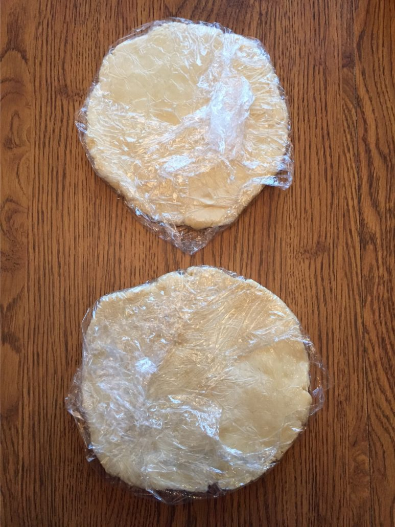 Made From Scratch Dough For Apple Pie