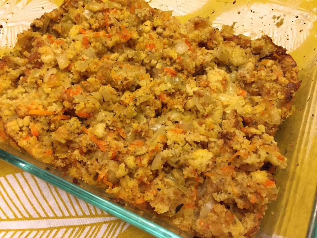 Best Ever Corn Bread Dressing