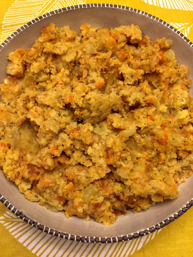 Simple Cornbread Stuffing Recipe