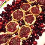 Easy Cranberry Goat Cheese Bruschetta Appetizer Recipe