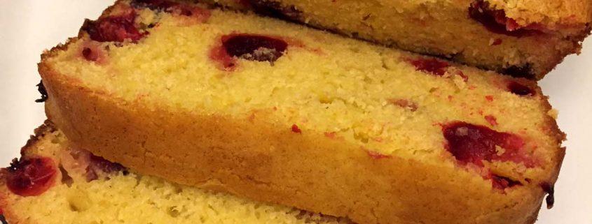 Holiday Cranberry Orange Bread