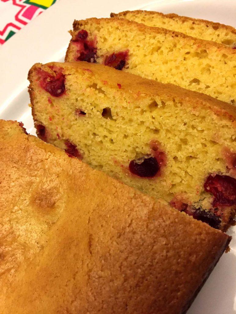 Cranberry Orange Bread Best Holiday Loaf Cake Recipe