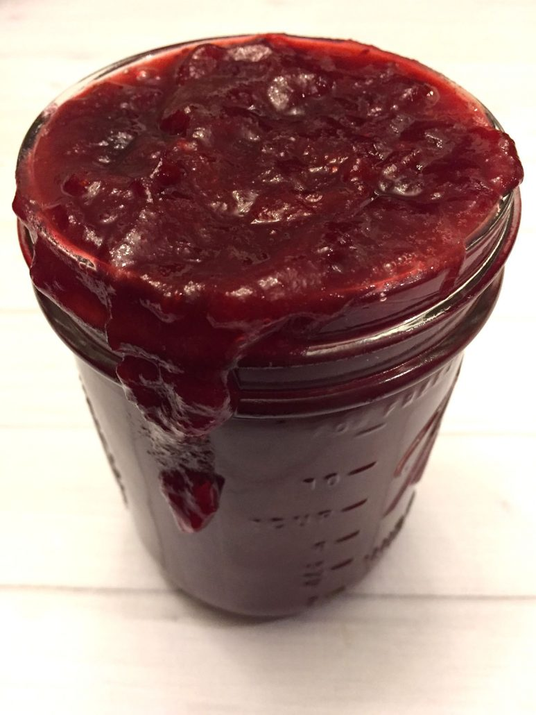Sugar Free Cranberry Orange Sauce