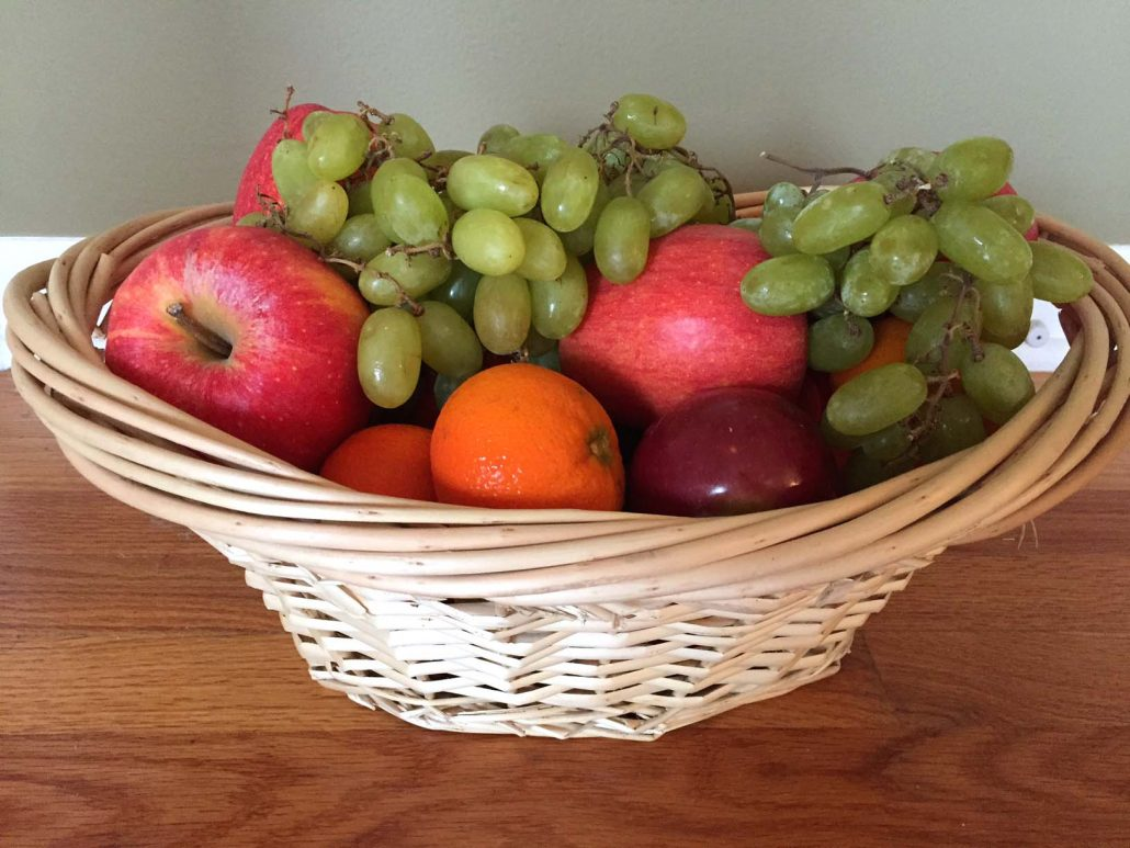 How To Make A Fruit Basket