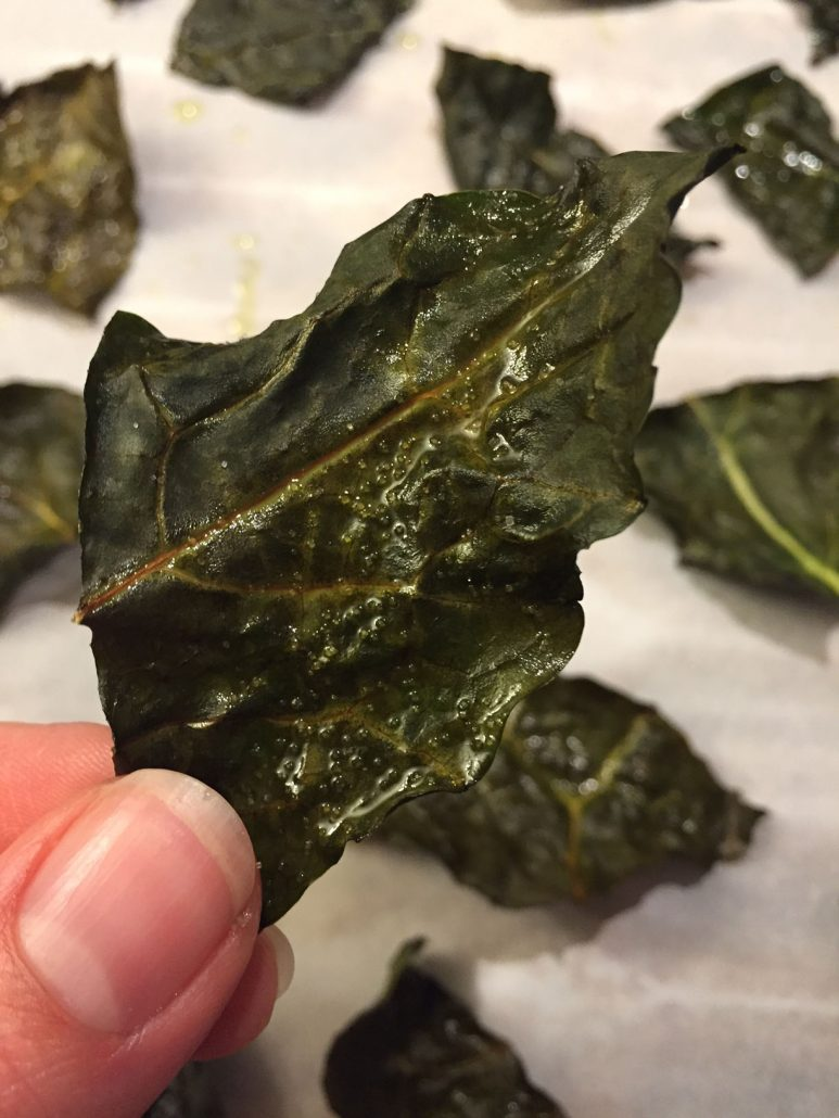 Crispy Baked Kale Chips RecipeHealthy  Crunchy!Melanie Cooks